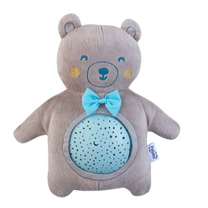 Image of Pabobo Mini Teddy Musical Star Projector Blue (3056104755)