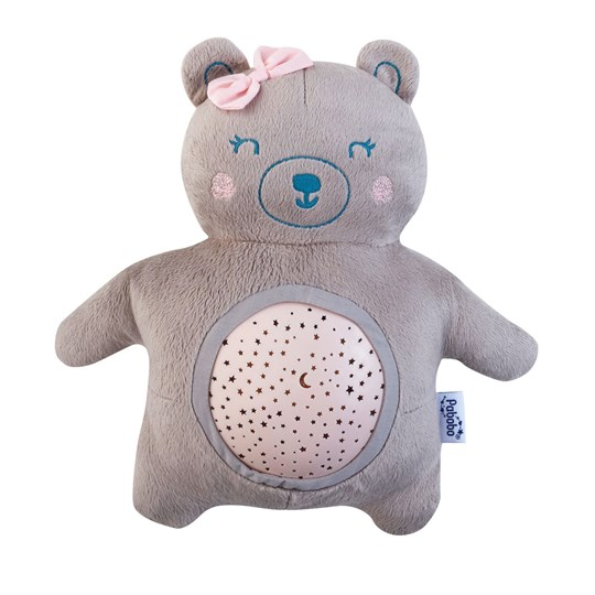 Pabobo Mini Teddy Musical Star Projector Pink