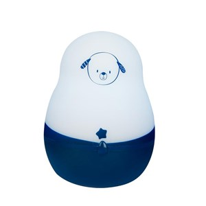 Image of Pabobo Super Nomad Portable Night Light Blue Dog (3057463439)
