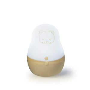 Image of Pabobo Super Nomad Portable Night Light Beige Bear (3056104759)