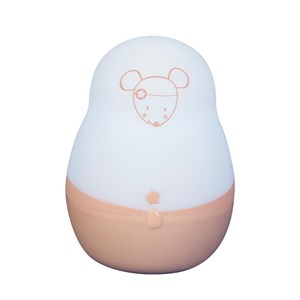 Image of Pabobo Super Nomad Portable Night Light Pink Mouse (3056465187)