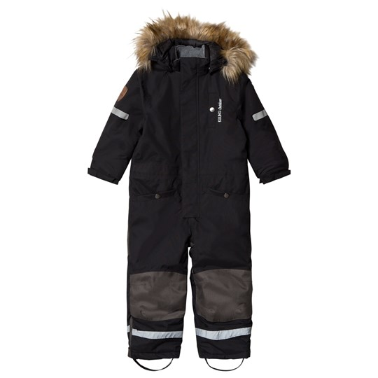 Kuling Outdoor Verbier Snowsuit Always Black Back