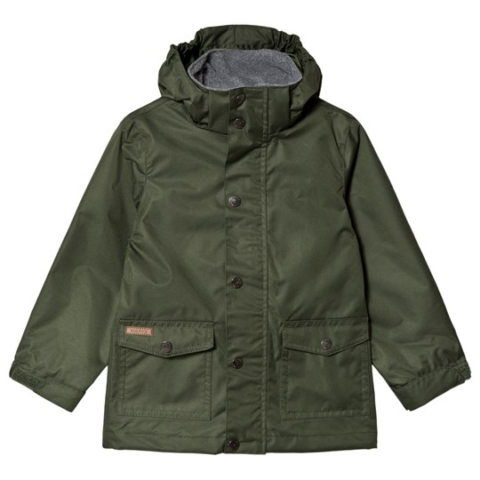 Kuling Shell Jacket Stockholm Forest Green Green