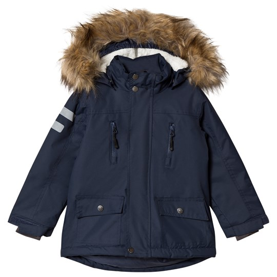 Kuling Val Thorens Winter Parka Classic Navy Blue
