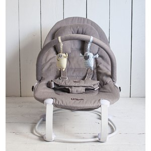 Image of Bababing Baby Bouncer, Grå (3059479049)