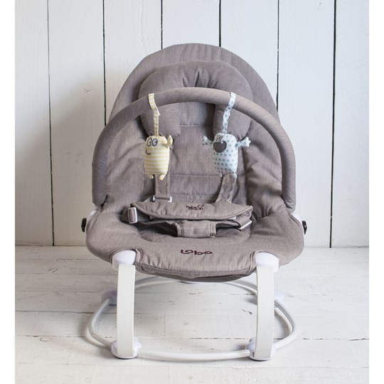 Bababing Baby Bouncer, Grå Multi