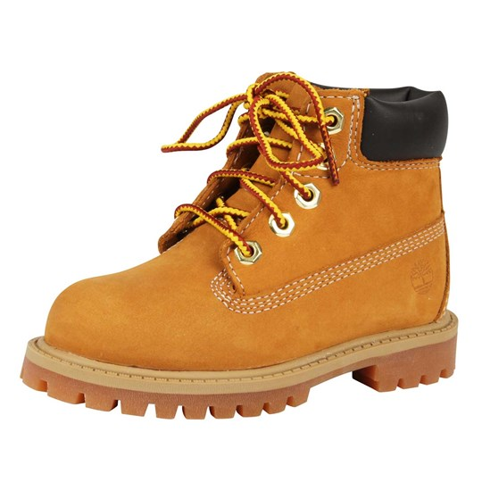 Timberland Prem Wheat Nubuck BROWN