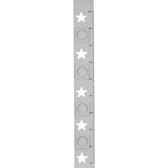 Kids Concept Grey Measuring Stick Star Black