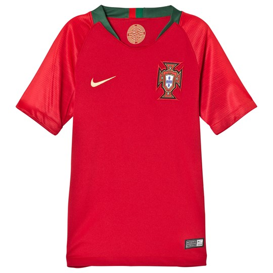 Portugal National Football Team Nike Breathe Portugal Home Soccer Jersey 687