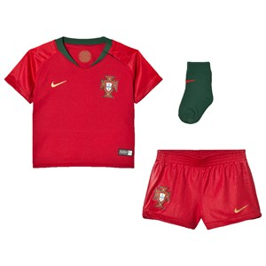 Image of Portugal National Football Team Nike Breathe Portugal Home Infants Kit 6-9 months (3056063607)
