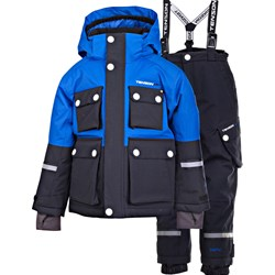 Tenson Breezy Skiing Snow Pants and Winter Jacket Set Blue