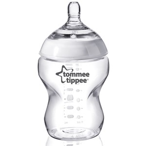 Image of Tommee Tippee Tommee Tippee, Sutteflaske 260 ml, Transparent (3056116245)