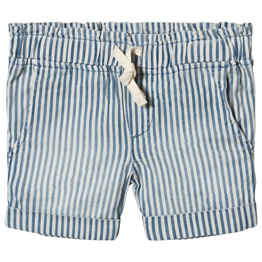 GAP Blue Stripe Pull-On Shorts Blue Stripe Combo B