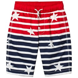 GAP Elysian Blue Stars and Stripes Swim Trunks