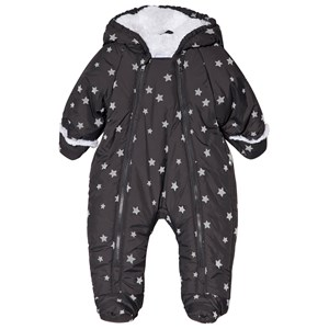 Image of Absorba Grey Star Print Snowsuit 1 month (3056071347)