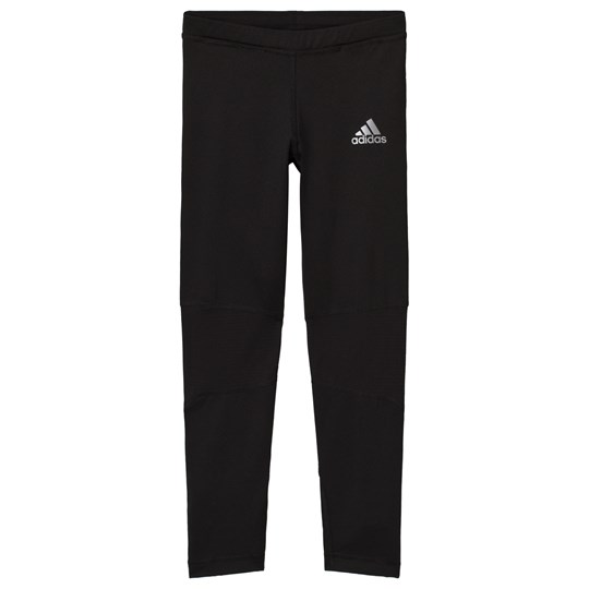 adidas Performance Black Run Training Leggings Black