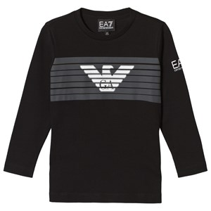 Image of Emporio Armani Black Eagle Logo Long Sleeve Tee 4 years (3056077605)