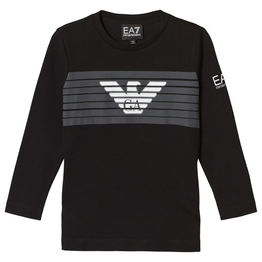 Emporio Armani Black Eagle Logo Long Sleeve Tee 1200