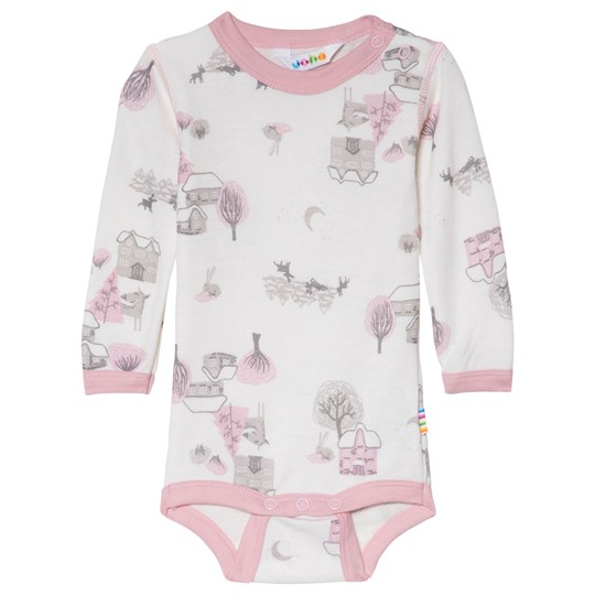 Joha Pink Winter Landscape Baby Body Winter Landscape Girl