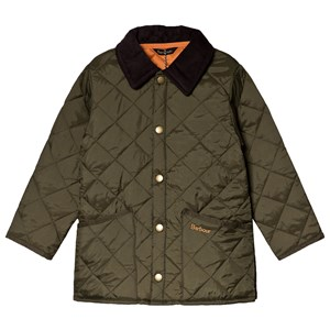 Image of Barbour Olive Liddesdale Quilted Jacket L (10-11 years) (3056071567)