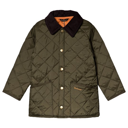 Barbour Olive Liddesdale Quilted Jacket OL92