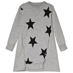 NUNUNU Star A Dress Heather Grey