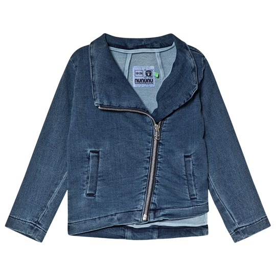 NUNUNU Denimide Zip Jacket Denim Denim
