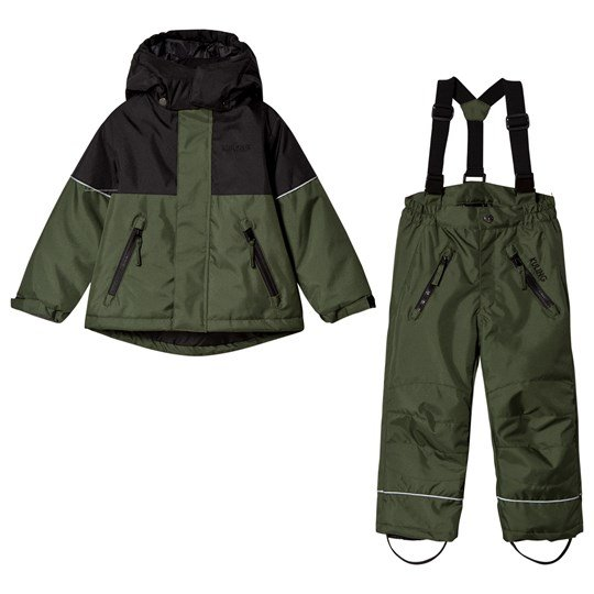 Kuling Aspen Ski Set Forest Green Green