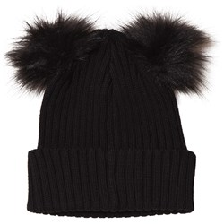 Kuling Frozen Two Pom-Poms Beanie Always Black