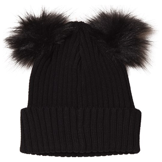Kuling - Frozen Two Pom-Poms Beanie Always Black - Babyshop.com 1baa0309dc3