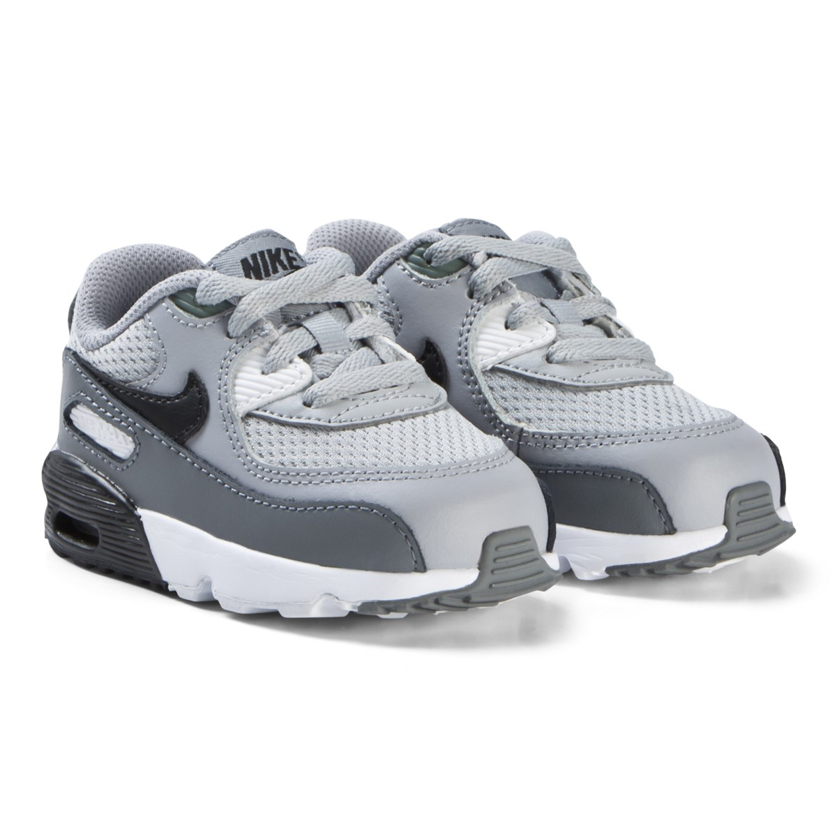 competitive price 26f47 0a30d nike light grey air max 90 mesh infants shoes
