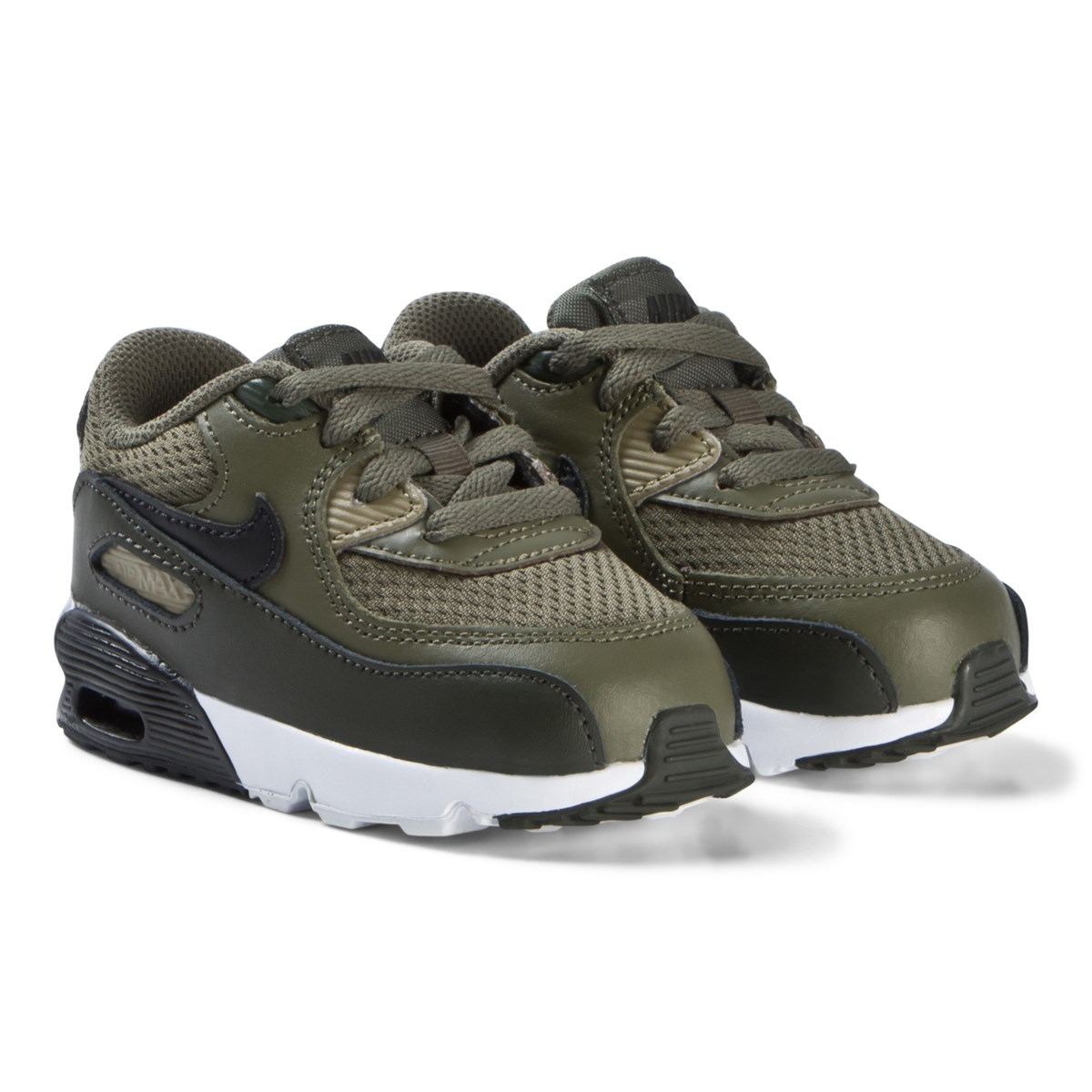 check out 63232 6336a khaki air max 90 mesh infants shoes nike