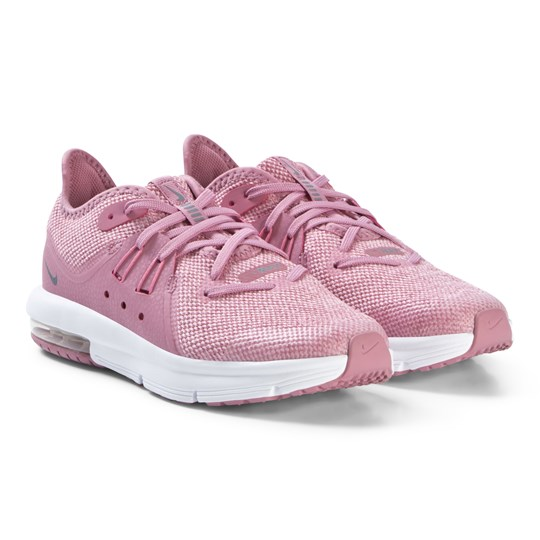 NIKE Pink Air Max Sequent 3 Running Shoes 601