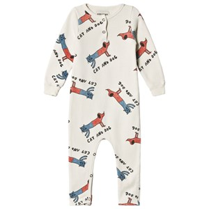 Image of Bobo Choses Cats And Dogs Playsuit High-Rise 12-18 mdr (3056108503)