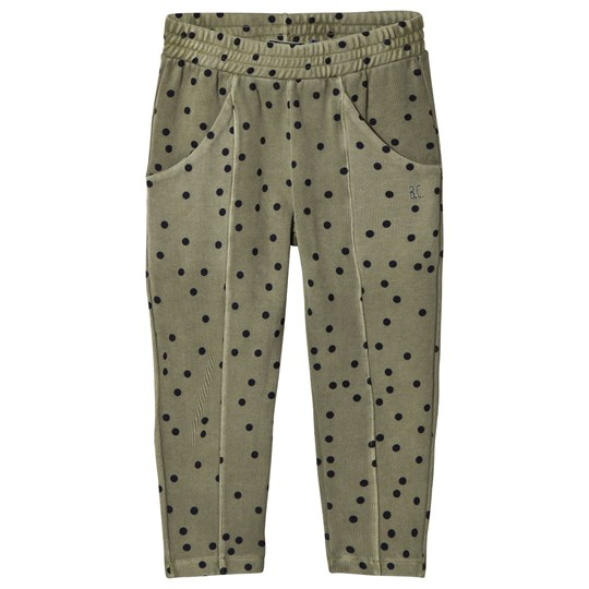 Bobo Choses Confetti Front Seam Pants Deep Lichen Green Deep Lichen Green