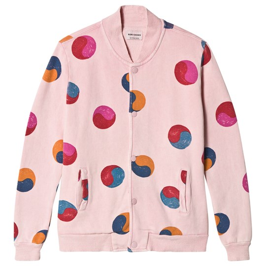 Bobo Choses Yin Yang Buttons Jacket Mellow Rose Mellow Rose