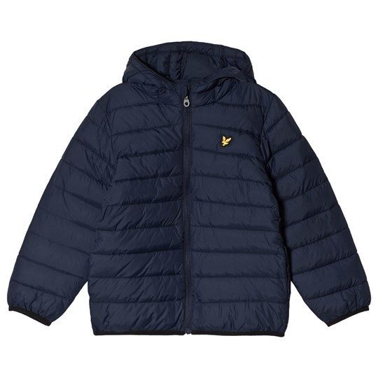 Lyle & Scott Navy Padded Jacket Color Description