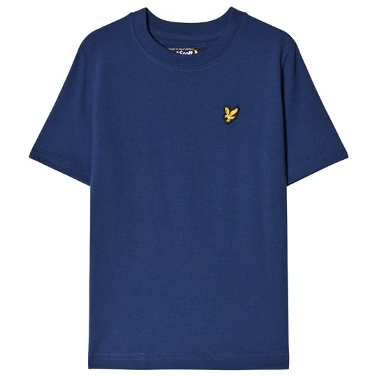 Lyle & Scott Blue Classic Logo Tee Color Description