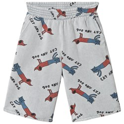 Bobo Choses Cats and Dogs Fleece Culottes High-Rise