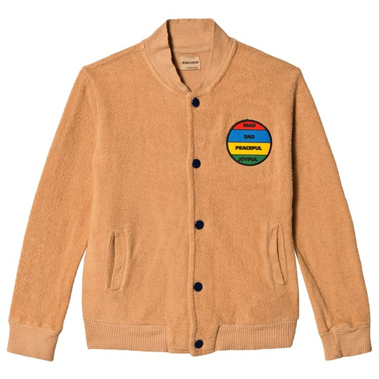 Bobo Choses Patch Buttons Jacket Amber Gold Amber gold