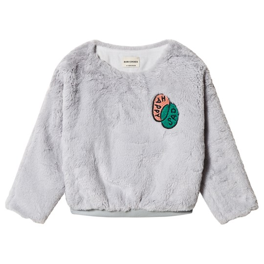 Bobo Choses Happy Sad Faux Fur Top High-Rise HIGH-RISE