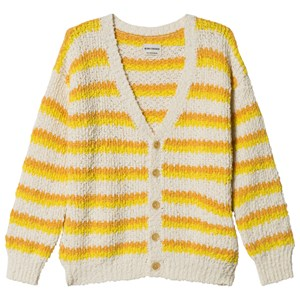 Image of Bobo Choses Striped Cardigan Egret 8-9 år (1193699)