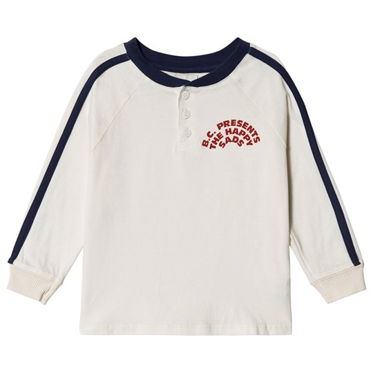 Bobo Choses The Happy Sads Buttons T-Shirt Egret Egret
