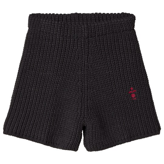 Bobo Choses B.C. Knitted Shorts Black Negro