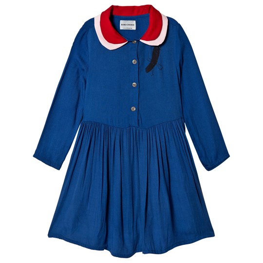 Bobo Choses Bird Princess Dress Mazarine Blue Mazarine Blue