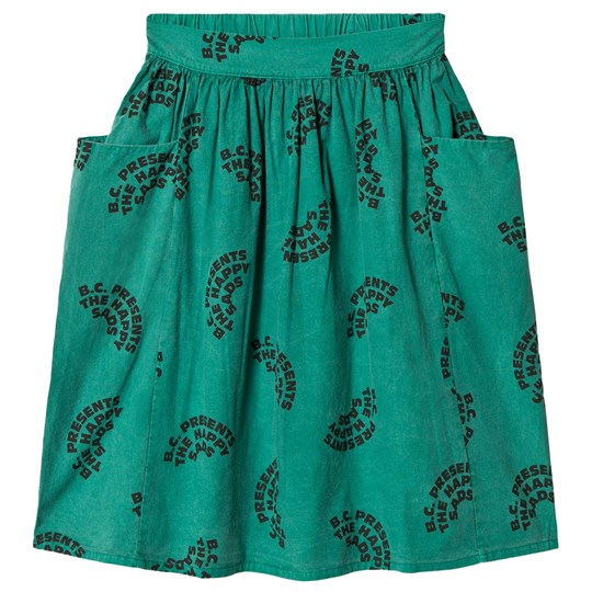 Bobo Choses The Happy Sads Midi Skirt Viridis Viridis