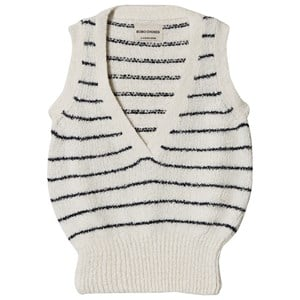 Image of Bobo Choses Knitted Vest Egret 2-3 år (1193820)