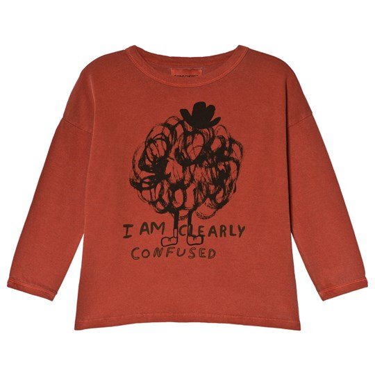 Bobo Choses Clearly Confused Round Neck T-Shirt Burnt Ochre Burnt Ochre