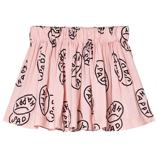 Bobo Choses Happy Sad Flared Skirt Mellow Rose Mellow Rose
