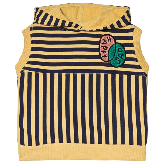 Bobo Choses Happy Sad Sleeveless Sweatshirt Dusky Citron Dusky Citron